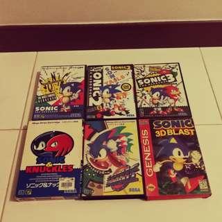 Sega megadrive sonic bundle