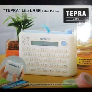 """TEPRA"" Lite LR5E Label Printer"