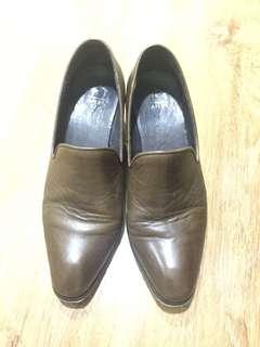 復古真皮鞋