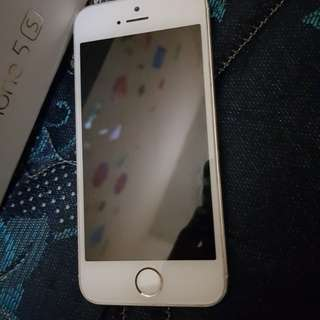 Iphone 5s Gold 16 GB Preloved