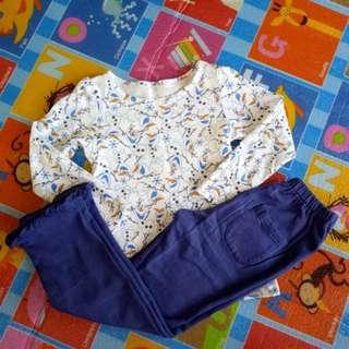 Uniqlo (Olaf) Pajama Set