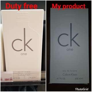 Authentic CK One 200ml