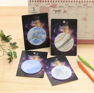 Planets Post its!