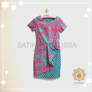 Spring Collection Batik Dress in Pink