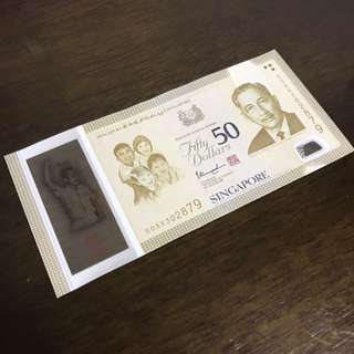 SG50 $50 Note