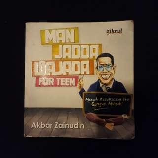 Novel man jadda wajada #UBL2018