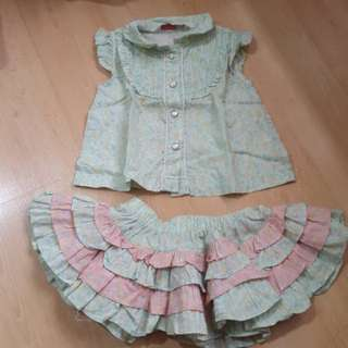 Set dress bayi