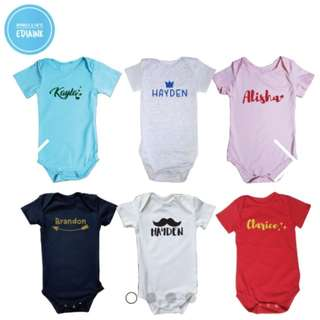 Customised Baby Romper Princess is here - Newborn Series (FREE DELIVERY ABOVE 10pcs)