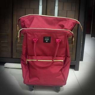 "Luggage Trolley Bag 20"" (4 wheels 360 rotating)"