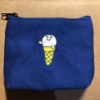 冰淇淋圖案小零錢包