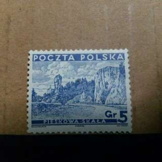 1935 Poland stamp, Dog Cliff