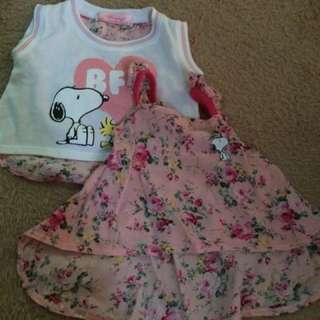 Snoopy crop top bundle