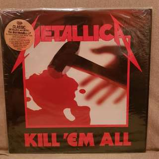 Metallica Kill Em All DMM Vinyl Lp