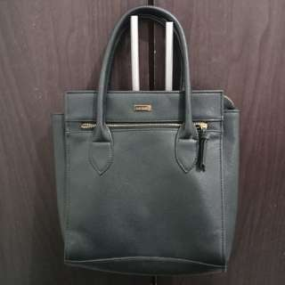 Memo Black Handbag (FIXED PRICE)