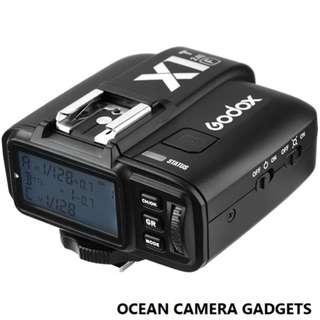 Godox X1T-F TTL Flash Trigger 1/8000s HSS 32 Channels 2.4G Flash Transmitter for Fuji X-Pro2 X-T20 X-T2 X-Tl X-Prol X-El X-A3 X100F Digital Camera