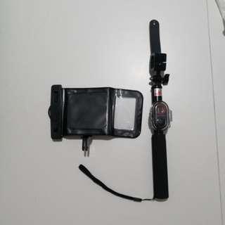 Water proof selfie stick-wireless