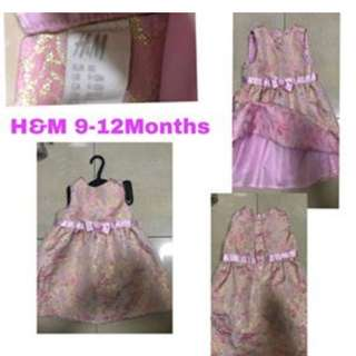 H&M Dress 9-12 months old