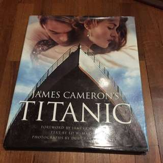 Brand new JAMES CAMERON'S TITANIC