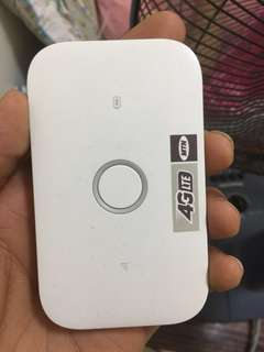 Huawei 5537C 4G LTE 300MBPS 3 month only used with og wire and box
