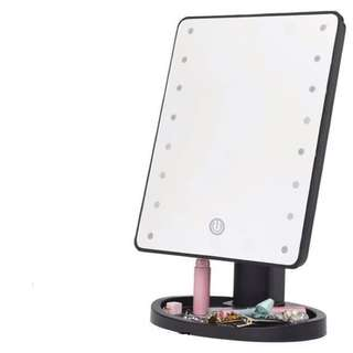 LED lighted touch screen Make up mirror