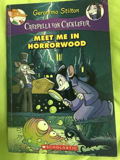 Geronimo Stilton Creepella Von Cacklefur : Meet Me In Horrorwood