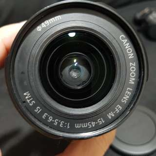 Canon eos-m 15-45mm IS STM