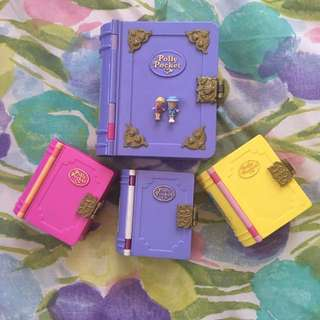 Vintage Polly Pocket Book