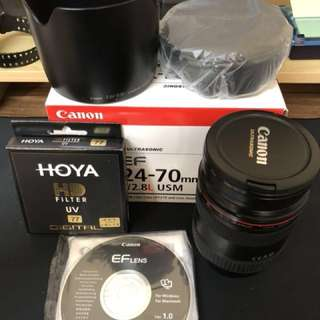 Canon EF 24-70mm f/2.8L USM 鏡頭(公司貨)