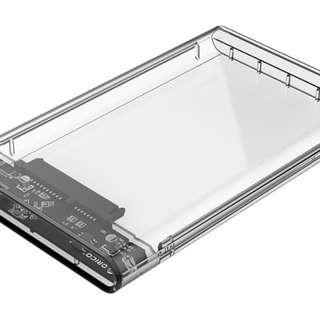 ORICO 2.5寸 外置硬盤盒 透明 USB3.0