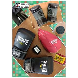 Everlast Boxing Bundle (Gloves, Wrap, Speed Ball)