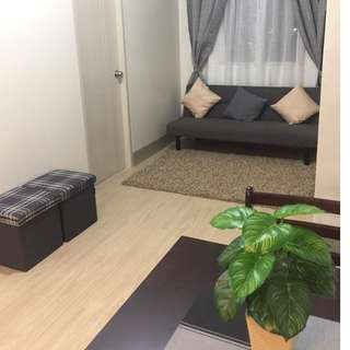Fully furnished 2 BR condo unit for rent