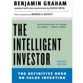 The Intelligent Investor (Benjamin Graham) e-book