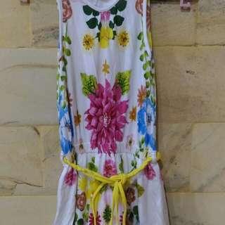 Dress Anak Santai Bunga