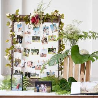 Wedding Photo Stand Frame (DIY)