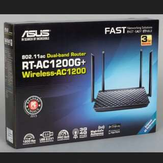 ♳Brand New ASUS RT-AC 1200G+ Wireless-AC 1200 Dual Band Router