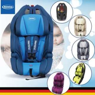 SHOCKING DEAL : Meinkind Speedster Baby Car Seat From 9Kgs to 36Kgs (12 Years Old) With 3 Years Warranty @ German