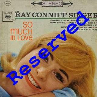 Ray Conniff Vinyl LP, used, 12-inch original pressing