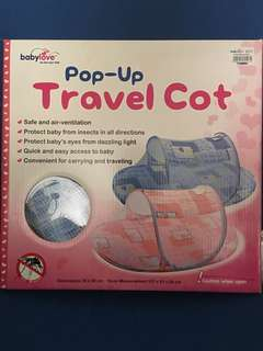 Pop-up travel cot #bajet20
