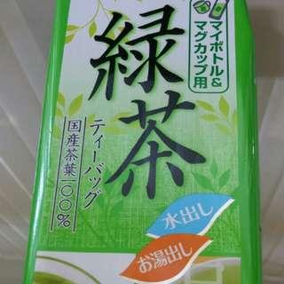 (日本購入)綠茶茶包