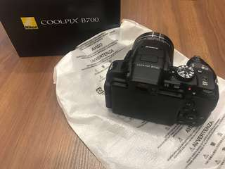 Nikon coolpix b700 with string ,cable,adapter