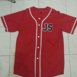 Jersey baseball size M fit to L