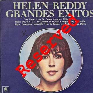 Helen Reddy Vinyl LP, used, 12-inch original pressing