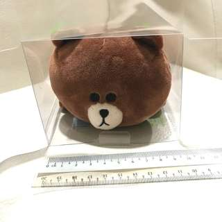 Line Brown Pencil Case Authentic
