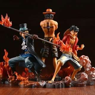 One piece luffy,ace,sabo