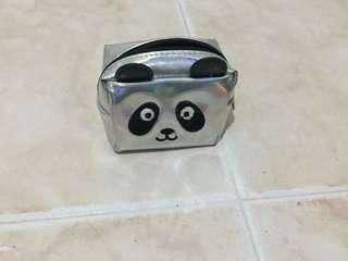 H&M Holographic Panda Pouch