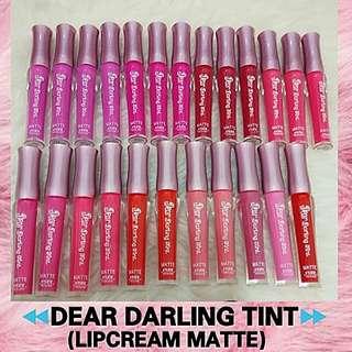 Dear Darling Tint Matte Lipcream