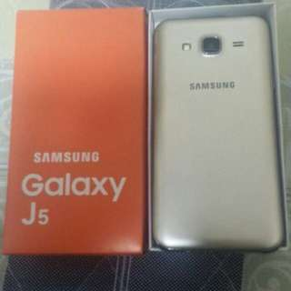 Samsung galaxy J5 brand new and 100% original