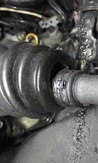 Driveshaft Cover Replacement
