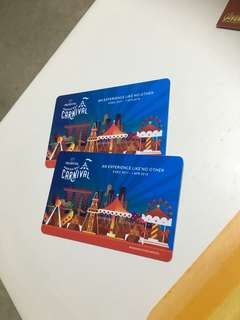 Prudential Carnival gift card