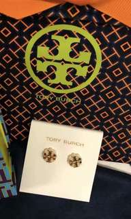 Tory Burch logo flower stud earrings  Style no. 36841